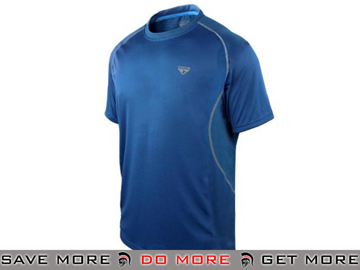 Condor Small Cobalt Blitz Performance Workout Top Shirts- ModernAirsoft.com