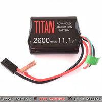 Titan Power Airsoft 11.1v 2600mah Li-ion Brick Battery