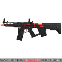 Lancer Tactical Enforcer NEEDLETAIL Skeleton AEG [LOW FPS] - BLACK/RED