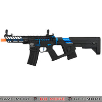 Lancer Tactical Enforcer NEEDLETAIL Skeleton AEG [LOW FPS] - BLACK/BLUE