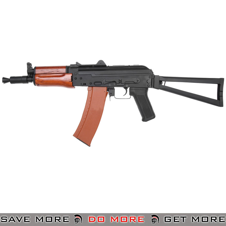 CYMA CM035A Full Metal AKS-74U  AK-74 Airsoft AEG Rifle - Real Wood
