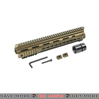 "Elite Force / VFC Avalon VR16 Calibur 13"" Free Float Keymod Rail (Bronze) RIS / RAS / Rails- ModernAirsoft.com"