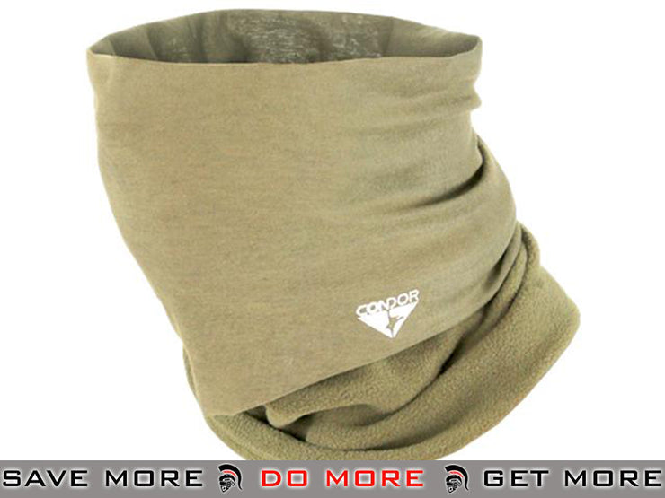 Condor Tan Tactical Fleece Multi Wrap / Neck Gaiter Head - Wraps / Balaclavas- ModernAirsoft.com