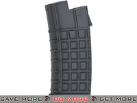 ASG Black 330rd Hi-Cap Magazine for AUG Series Airsoft AEG Rifles Electric Gun Magazine- ModernAirsoft.com