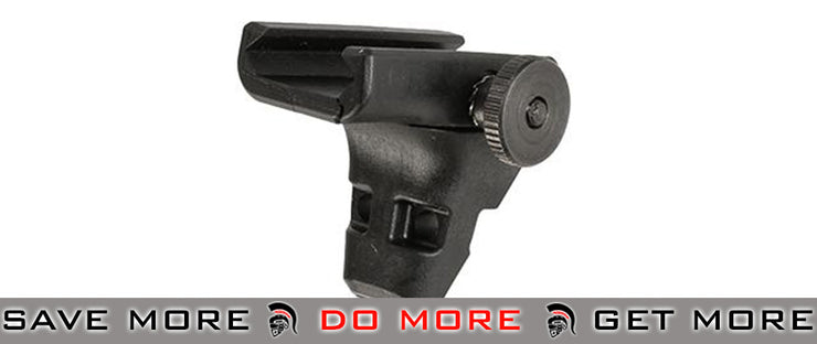 ASG / CZ Front Support Set for Scorpion EVO 3 - A1 (Black) Vertical Grips- ModernAirsoft.com