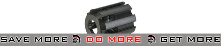 ASG Steel Metal Flash Hider for CZ Scorpion EVO 3 A1 (Black) Flash Hiders- ModernAirsoft.com