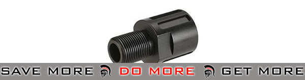 ASG / CZ 18mm to 14mm Muzzle Adaptor for Scorpion EVO 3 - A1 (Black)