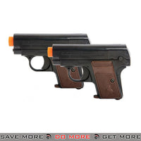 Colt Licensed 1908 Hammerless Airsoft Pistol Set of 2