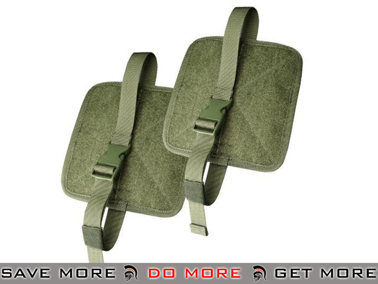 Condor OD Green Rip-Away Panels - Pack of 2 OD / Green Pouches- ModernAirsoft.com