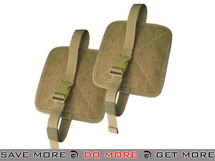 Condor Tan Rip-Away Panels - Pack of 2 Tan / Desert / Coyote / FDE- ModernAirsoft.com