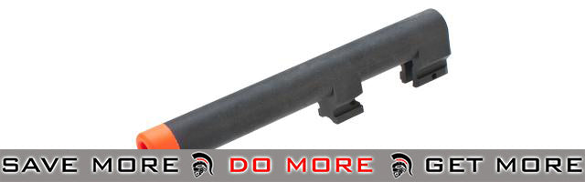 KWA Polymer Outer Barrel for M9 PTP Series Airsoft GBB Pistols KWA KSC Parts- ModernAirsoft.com