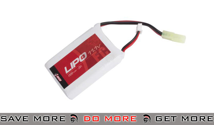 Echo1 11.1V 1300mAh 20C Airsoft Li-po Battery BBs, Batteries, Gas- ModernAirsoft.com
