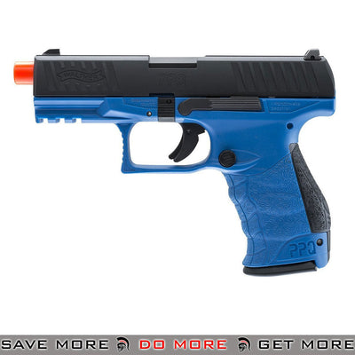 Walther PPQ GBB Tac Airsoft Pistol by Umarex Elite Force (Color: LE Blue)