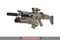 WE Tech FN Licensed Full Metal Dark Earth SCAR EGLM Custom Airsoft GBB Gas Blowback Other Series Custom Guns- ModernAirsoft.com