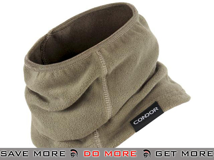 Condor Tan Tactical Fleece Thermo Neck Gaiter Head - Wraps / Balaclavas- ModernAirsoft.com
