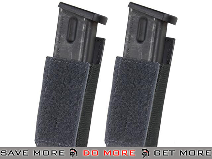 Condor Pack of 2 Slate QD Pistol Magazine Pouch for