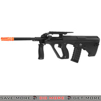 JG AUG Airsoft Gun Electric Rifle AEG Metal Gearbox Urban Assault UA-1 Civilian - Black