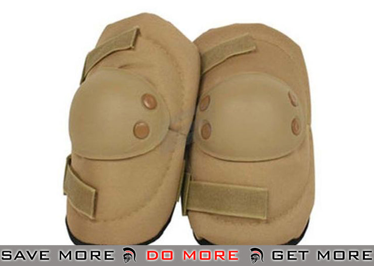 Condor Tan Tac Force Tactical Elbow Pads Knee / Elbow Pads- ModernAirsoft.com