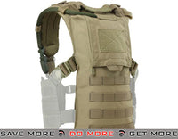 Condor Hydro Harness (Tan) Hydration Carriers- ModernAirsoft.com
