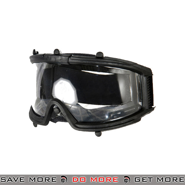 Lancer Tactical Wide View Full Seal Goggles 2605B - Black Head - Goggles- ModernAirsoft.com