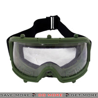 Lancer Tactical Wide View Full Seal Goggles 2605M - OD Green Head - Goggles- ModernAirsoft.com