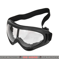 Lancer Tactical Safety Full Seal UV400 Goggles 2609C - Clear Lens Head - Goggles- ModernAirsoft.com