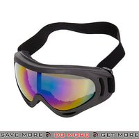 Lancer Tactical Safety Full Seal UV400 Goggles 2609F - Multicolor Lens Head - Goggles- ModernAirsoft.com