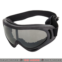 Lancer Tactical Safety Full Seal UV400 Goggles 2609S - Smoke Lens Head - Goggles- ModernAirsoft.com