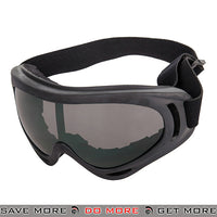 Lancer Tactical Safety Full Seal UV400 Goggles 2609 - Yellow Lens Head - Goggles- ModernAirsoft.com