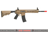 Lancer Tactical Multi Mission Airsoft Carbine AEG - Mechanical Blowback LT-102T (Tan/Black) Airsoft Electric Gun- ModernAirsoft.com