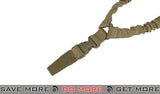 Elite Force Dual Bungee Single Point Sling (Tan) Slings- ModernAirsoft.com