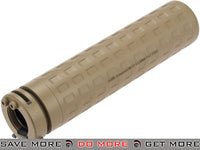 PTS Licensed Griffin Armament M4SDII Mock Suppressor Generation 2 (Dark Earth) Mock Silencer- ModernAirsoft.com