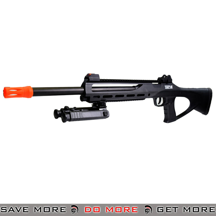 ASG TAC6 CO2 Powered Airsoft Sniper Rifle black