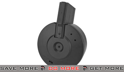 Echo1 3000rd Auto Winding & Sound Control Drum Magazine for EK25/SR25 Airsoft Rifles Electric Gun Magazine- ModernAirsoft.com
