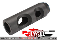 Angel Custom CNC AMD-65 Type Airsoft Metal Flash Hider (14mm-) Flash Hiders- ModernAirsoft.com