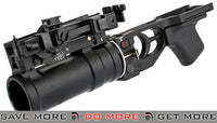 DBoys / Lancer Tactical GP-30 Type AK74 Style Airsoft Grenade Launcher w/ Shell