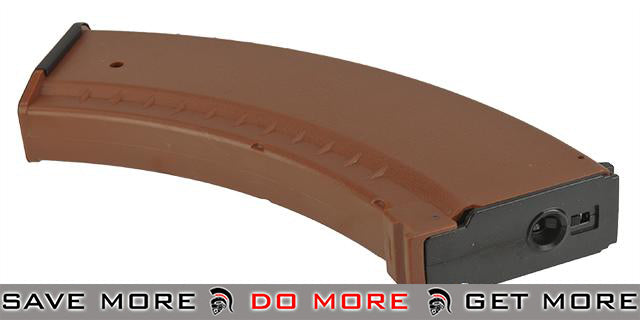 Matrix 150rd Mid-Cap Magazine for Airsoft AK Series AEG - Imitation Bakelite Electric Gun Magazine- ModernAirsoft.com