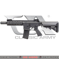 Classic Army VCW Full Metal Vehicle Crewman CQB M4 AEG Airsoft Gun Electric Rifle (Black)