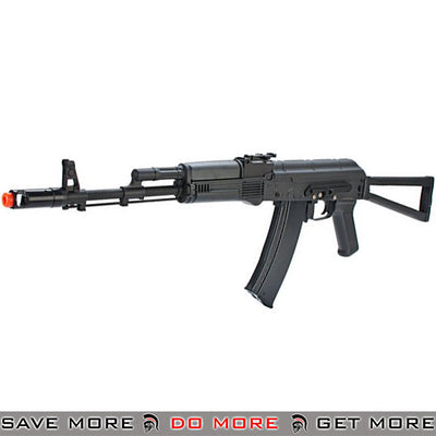 New Version Full Metal CYMA  Kalash AK-74 Airsoft AEG Rifle w Side Folding Stock black