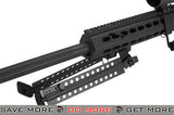 Custom Long Range Airsoft AEG Sniper Rifle by 6mmProShop (V.2 Gearbox) - Black / Long Barrel Airsoft Electric Gun- ModernAirsoft.com