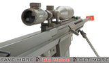 Snow Wolf Custom Long Range Airsoft AEG Sniper Rifle (V.2 Gearbox) - Tan / Long Barrel Airsoft- ModernAirsoft.com