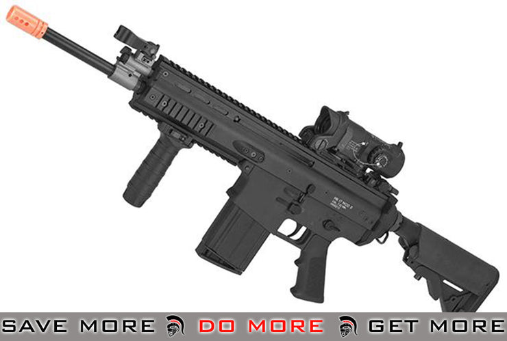 WE-TECH MK17 Spec. Ops Variant Seal Custom Gas Blowback Airsoft Rifle - (Color: Black) Gas Blowback Rifle- ModernAirsoft.com