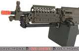 A&K / Matrix Full Metal MK46 Airsoft Light Machine Gun with Retractable Stock - Dark Earth