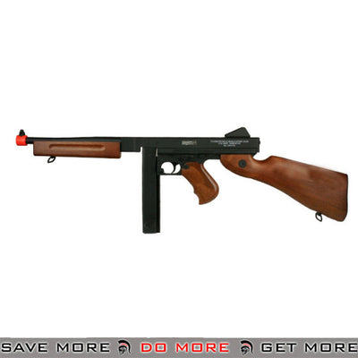 Matrix CYMA M1A1 Thompson Submachine Metal Airsoft AEG