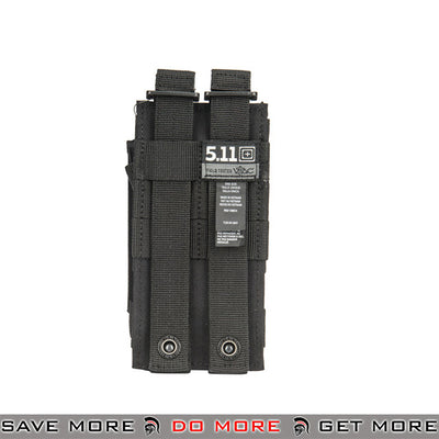 5.11 Tactical Single M4 / M16 Bungee Magazine Pouch - Black Ammo Pouches- ModernAirsoft.com