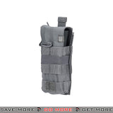 5.11 Tactical Single M4 / M16 Bungee Magazine Pouch - Storm Gray Ammo Pouches- ModernAirsoft.com