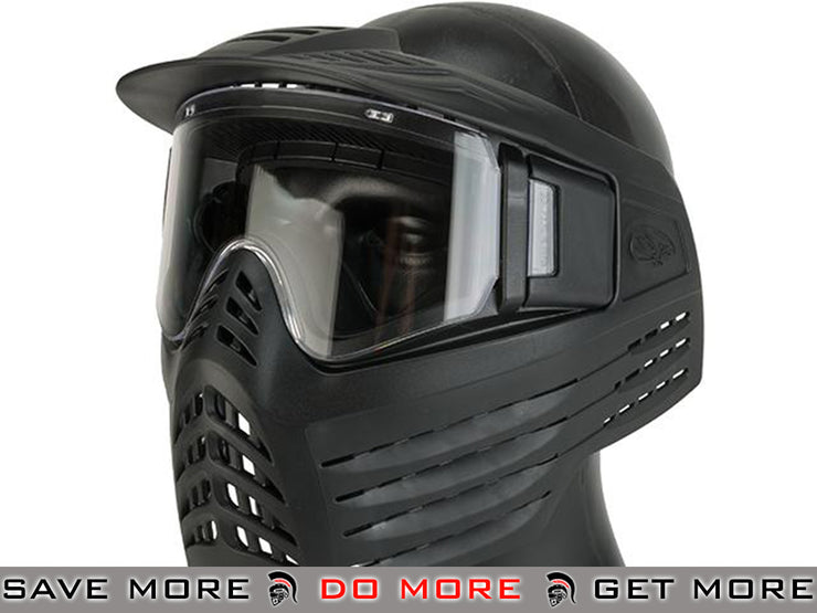 VForce Vision Systems Sentry Full Face Mask (Black) Face Masks- ModernAirsoft.com