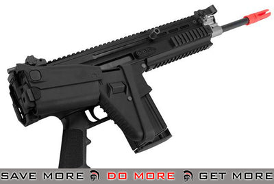 FN Herstal Licensed SCAR-H Gas Blowback Airsoft Rifle by WE-Tech - (Color: Black) MK16 / MK17 / SCAR / MK22- ModernAirsoft.com