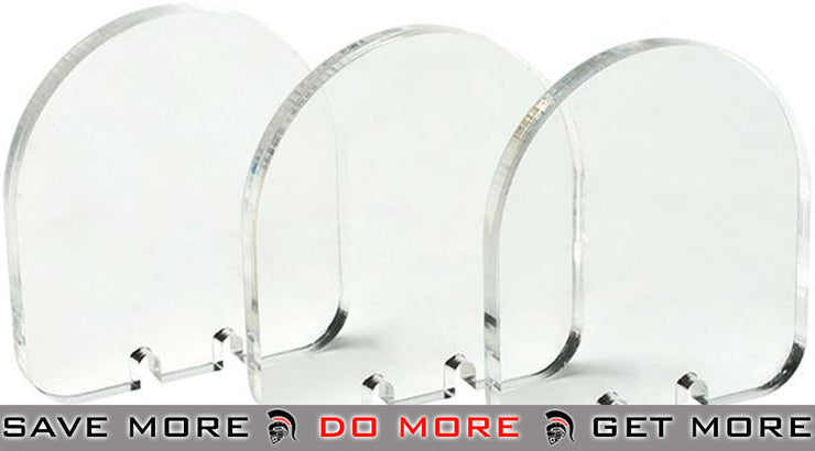 Angel Custom Set of 3 Replacement 5mm Lenses for QD Scope Defender Accessories- ModernAirsoft.com