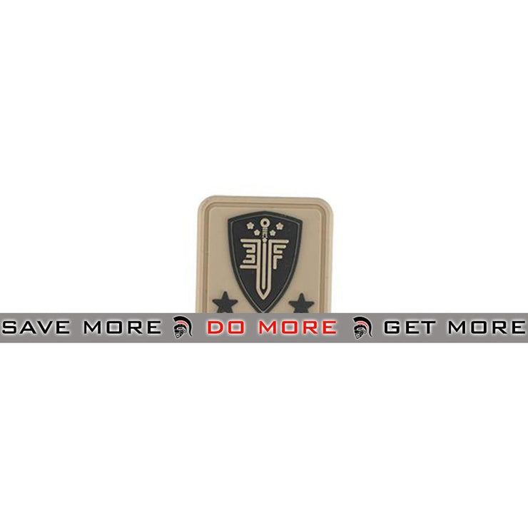 Elite Force Tan PVC Helmet Patch Others- ModernAirsoft.com